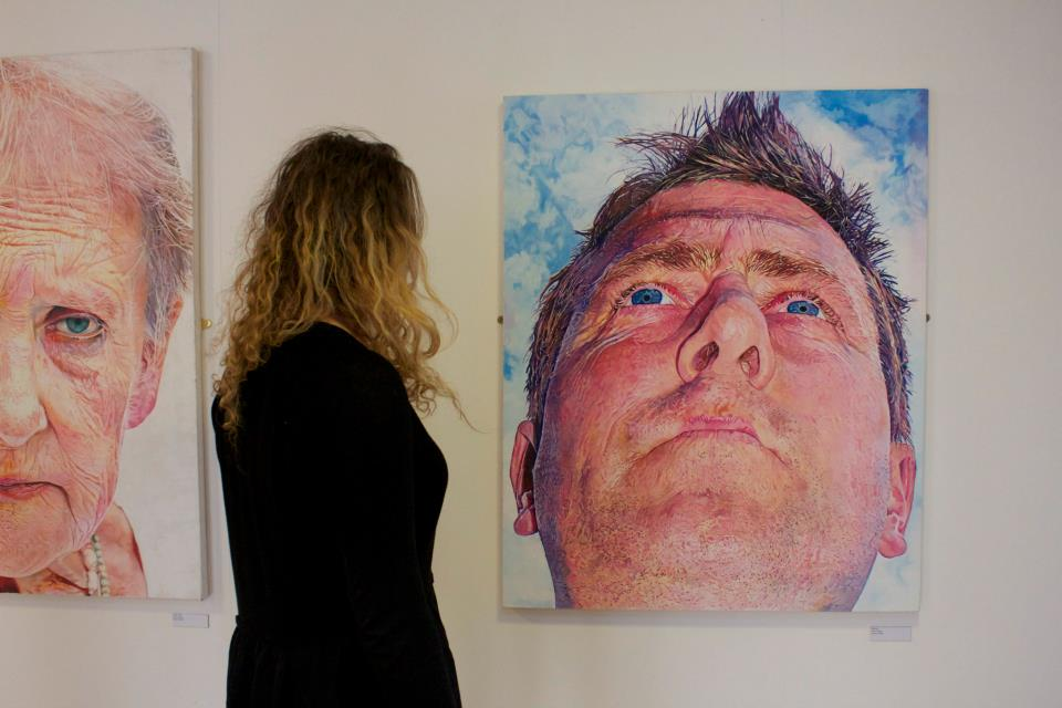 Picture of exhibition in York