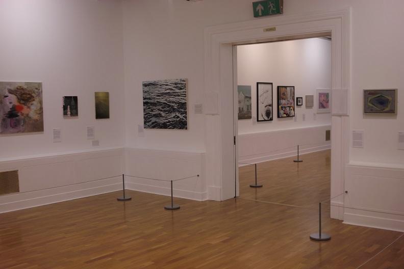Sea painting at Huddersfield Art Gallery