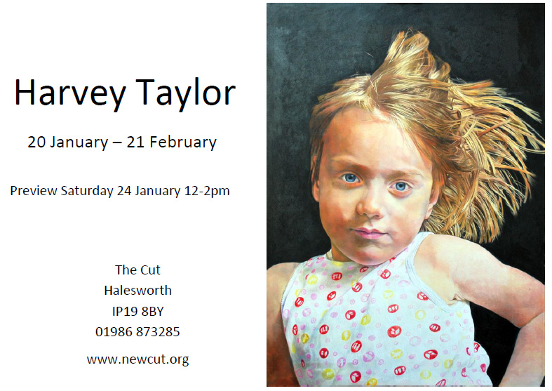 Solo show at The Cut - card invite